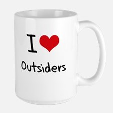 I Love Outsiders Mug