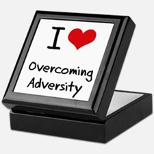 I Love Overcoming Adversity Keepsake Box