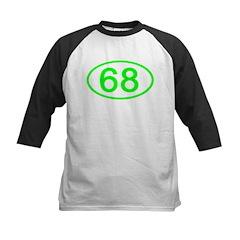 Number 68 Oval Tee