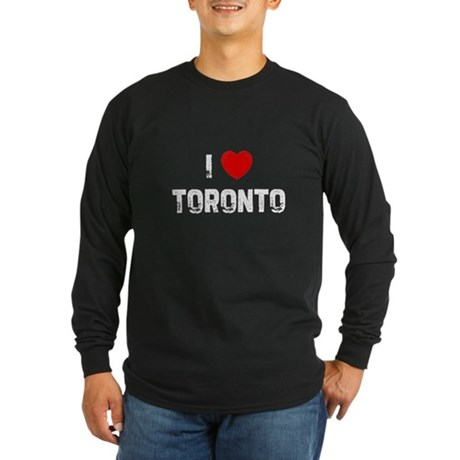 I * Toronto Long Sleeve Dark T-Shirt