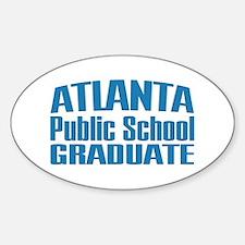 Atlanta Public School Graduate Oval Decal