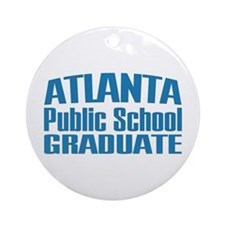 Atlanta Public School Graduate Ornament (Round)
