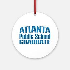 Atlanta Public School Graduate Ornament (Round)