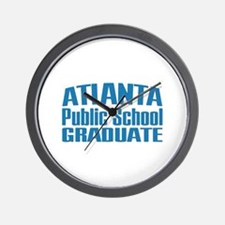 Atlanta Public School Graduate Wall Clock