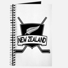 New Zealand Ice Hockey Flag Journal