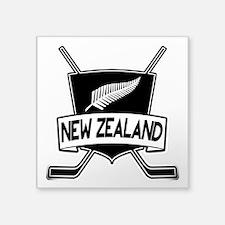 New Zealand Ice Hockey Flag Sticker