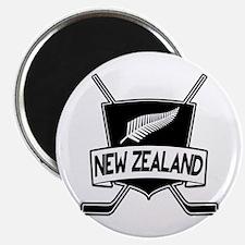New Zealand Ice Hockey Flag Magnet