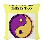 zen buddhism koan satori meditation tao Woven Thro