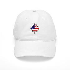 American-Canadian Half-Breed Baseball Cap