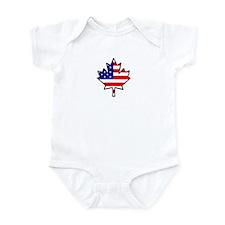 American-Canadian Half-Breed Infant Bodysuit