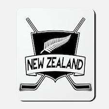 New Zealand Ice Hockey Flag Mousepad