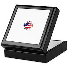 American-Canadian Half-Breed Keepsake Box