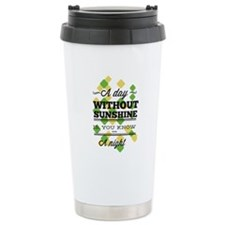 Day Without Sunshine Travel Coffee Mug