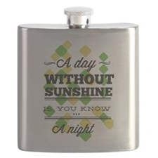Day Without Sunshine Flask
