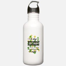 Day Without Sunshine Water Bottle