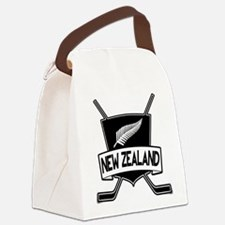 New Zealand Ice Hockey Flag Canvas Lunch Bag