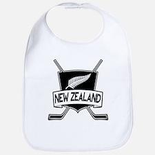 New Zealand Ice Hockey Flag Bib