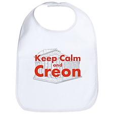 Keep Calm and Creon Bib