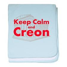 Keep Calm and Creon baby blanket