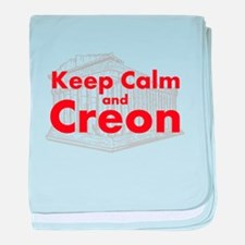 Keep Calm and Creon baby blanket