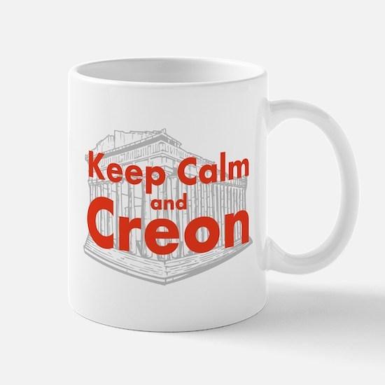 Keep Calm and Creon Mug