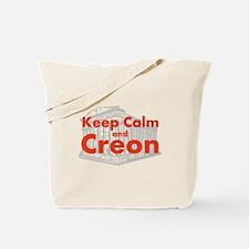 Keep Calm and Creon Tote Bag