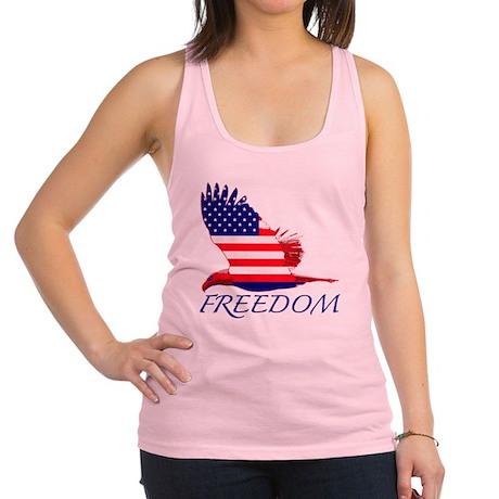 Freedom eagle Racerback Tank Top