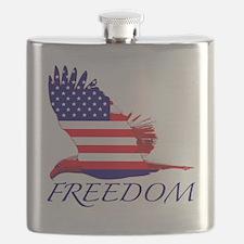 Freedom eagle Flask