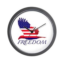 Freedom eagle Wall Clock