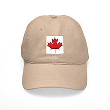 Canada: Maple Leaf Baseball Baseball Cap