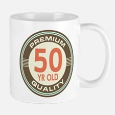 50th Birthday Vintage Mug