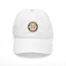 50th Birthday Vintage Baseball Cap