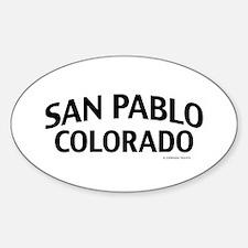 San Pablo Colorado Decal