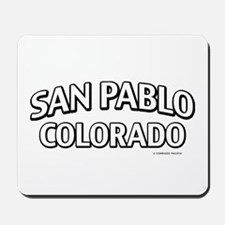 San Pablo Colorado Mousepad