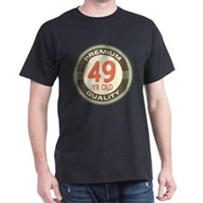 49th Birthday Vintage T-Shirt