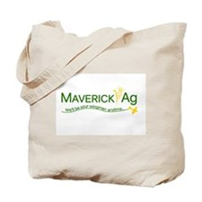 Maverick Ag Slogan Logo Tote Bag