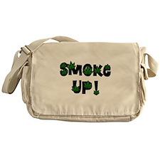 Smoke Up Messenger Bag