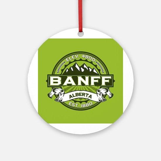 Banff Green Ornament (Round)