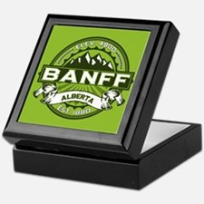 Banff Green Keepsake Box
