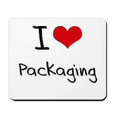 I Love Packaging Mousepad