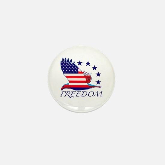 Freedom eagle Mini Button (10 pack)