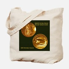 MMIX Ultra High Relief Gold Coin Tote Bag