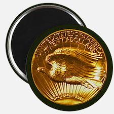 MMIX Ultra High Relief Gold Coin Magnet