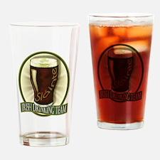 Funny Irish Stout Drinking Glass