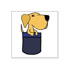 Pupy in a Pocket Sticker