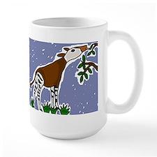 Artistic Okapi Design Mug