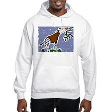 Artistic Okapi Design Hoodie