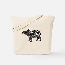 Funny Tapir Tote Bag