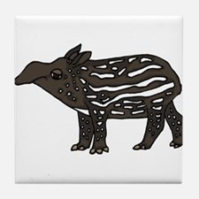 Funny Tapir Tile Coaster