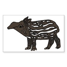 Funny Tapir Decal